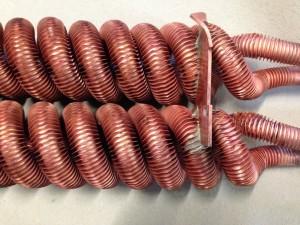 Kupfer gebeizt beizen Aluminium Titan Edelstahl Galvanik Lohnbearbeiter Lohnbearbeitung Trommelteile Trommelware Gestellteile Gestellware